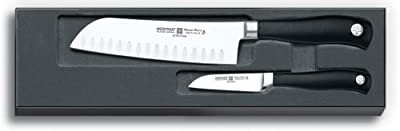 Wusthof Grand Prix II 2-Piece Hollow-Ground Asian Knife Set from Wusthof
