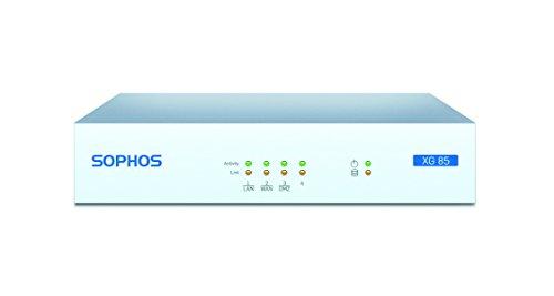 Sophos XG 85 Next-Gen UTM Firewall with 4 GE ports, Flash Memory + Base License - Includes FW, VPN &...