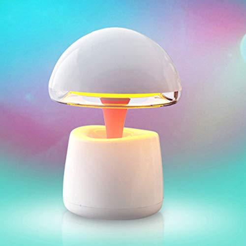 N/C Lampada da Scrivania A LED Multifunzione Smart Bluetooth Speaker Night Light Lampada Alashan Smart Bluetooth Speaker Speaker personalità Sveglia Creativa,Pink