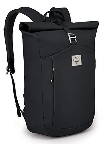 Osprey Arcane Roll Top Backpack, Stonewash Black, One Size
