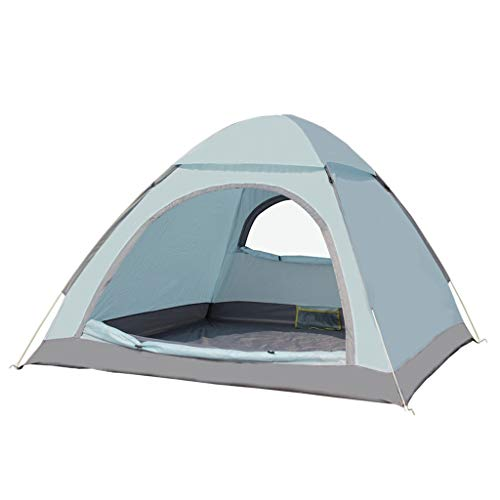 Camping Tents, Automatic Pop-up Camping Tents | 2-3 Person Outdoor Portable Tent | Suitable For Outdoor And Hiking | 2 Colors (Color : Blue)