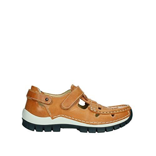 Wolky Comfort Extra Komfort Move - 35558 orange/blaues Leder - 40