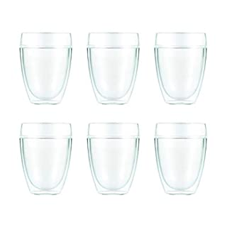 Bodum Australia Pty PAVINA Outdoor Outdoor Drinkware, 12 Ounces (6-Pack), Transparent, 11849-10-12 (B07KWM9DDG) | Amazon price tracker / tracking, Amazon price history charts, Amazon price watches, Amazon price drop alerts