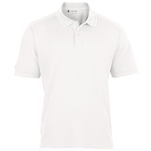 A14 - Small - White/ice grey ClimaLite« Mens Athletic Polo