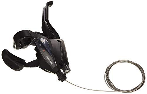 Shimano Brems-/Schalthebel-Rapid-Fire 3-fach mit Ganganzeige, schwarz, L