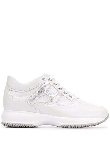 Hogan Luxury Fashion Damen HXW00N0S361MYU0351 Weiss Sneakers |
