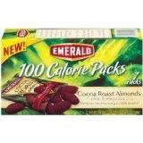 Classic Emerald Cocoa Roast Max 46% OFF Almonds Dark 100 Calorie Chocolate Pack 4