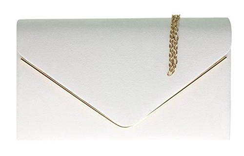 H&G Mesdames Faux daim embrayage sac enveloppe...
