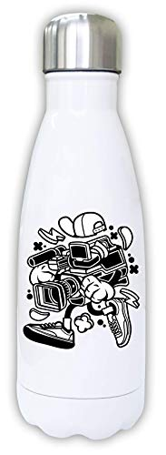 Iprints Cartoon Styled videocamera Urban Filming Thermal Water Bottle