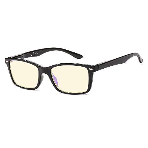 Suertree 90% Anti Blue Light Lesebrille Sehhilfe Augenoptik Brille Lesehilfen für Damen Herren BM151T 2.5x