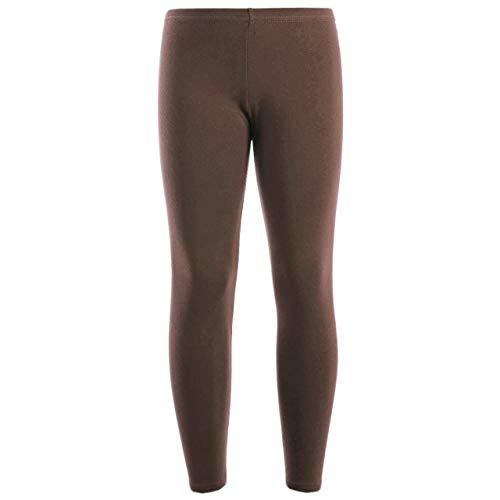 7STYLES® - Leggings de algodón hasta el tobillo para niñas de 2 a 13 años