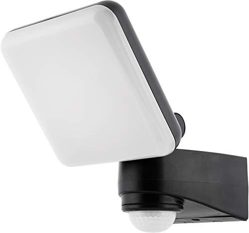 Foco de pared LED IP54 con detector de movimiento + sensor crepuscular – giratorio – blanco diurno (4000 K)