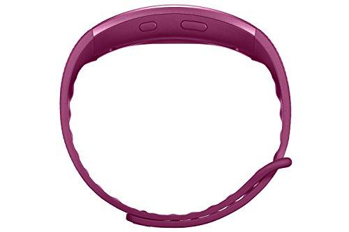 Samsung Gear Fit 2 Smartwatch mit Pulssensor und Benachrichtigungen - Pink (L)