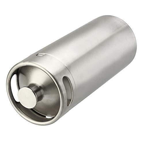 xingxing Industrial Hardware - Mini barril de acero inoxidable para cerveza o vino casero (4 L)