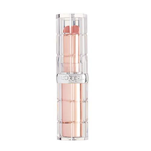 L'Oréal Paris Color Riche Plump & Shine 107 Coconut Plump, Lippenstift mit Menthol-Extrakt für einen aufpolsternden und frischen Effekt, 4,3g