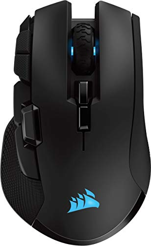 Photo de corsair-ironclaw-wireless-rgb-rechargeable-optique