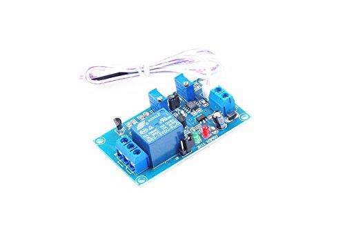 KNACRO 12V Light Control Switch The Photoresistor Plus Relay Module The Light Detection Switch Photosensitive Sensor