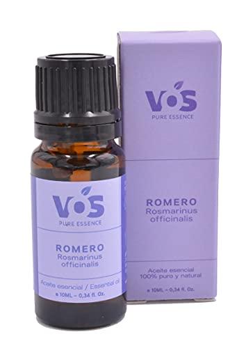 Aceite esencial de Romero, 100% Puro y natural - Para el cabello, energía, descongestiona, mejora la belleza de tu piel - 10ml