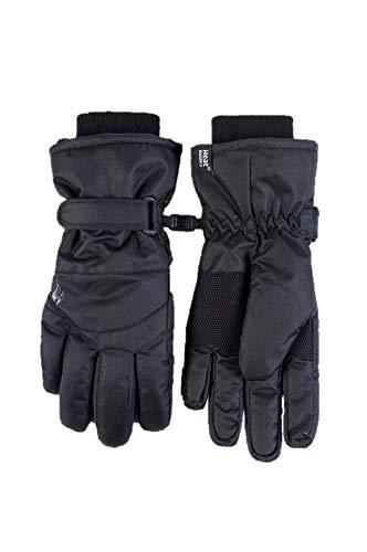 Ladies Heat Holders Heatweaver Thermal Warm Winter SKI Gloves TOG 68 Black SM