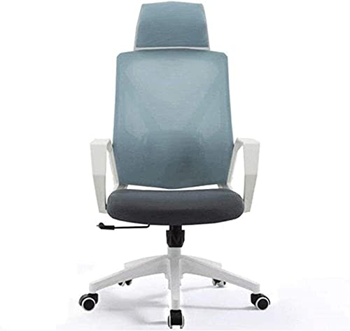 Recliner Eecutive Swivel Office Chair Office Chair, High Back Lying,Mesh Office Computer Swivel Desk Task Chair,Reclining Office Chair, Lift Swivel Chair,Comfortable and Healthy Waist Support Chair hs