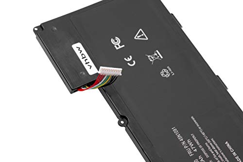 vhbw Li-Ion Akku 4250mAh (11.1V) passend für Laptop, Notebook Lenovo ThinkPad T430u, V490U, V590U