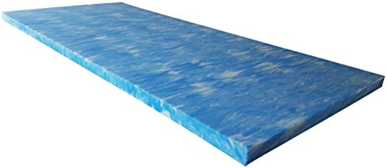 Snoozo GELAX  Atmungsaktiver Gel-Schaum Topper Matratzenauflage  Ohne Bezug  RG 50  5 cm Gesamthhe  Alle Zuschnitte und Gren mglich  Qualitt Made in Germany (160 x 200 cm)
