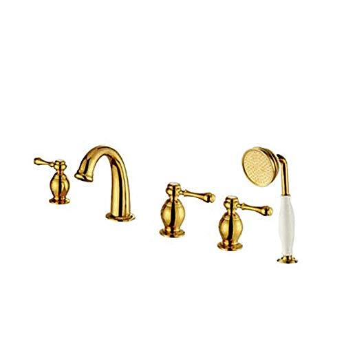YO-TOKU Kraan wastafel kraan Eenvoudig te installeren Gold Kraan dagelijks gebruik, Duurzaam Kraan voor Badkamer Home Decoration
