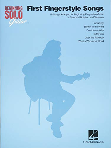 Beginning Solo Guitar First Fingerstyle Songs: Noten, Grifftabelle für Gitarre