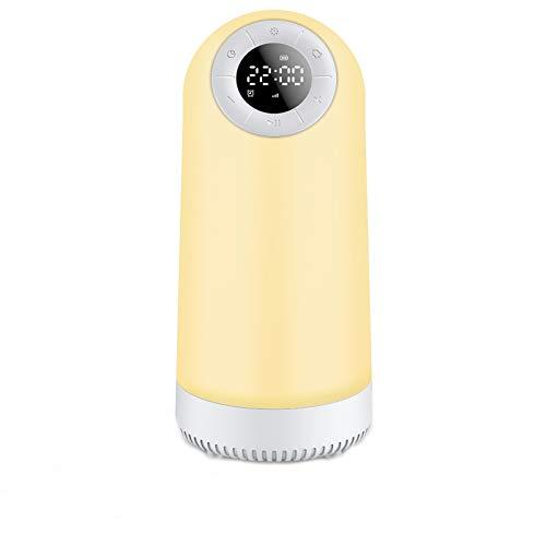 ZORNIK Luce Notturna,Lampada Altoparlante Touch Screen a 18 Colorata Lampada LED Intelligente a LED Sensibile al Tocco per Camera da Letto, Sala Yoga, Ufficio