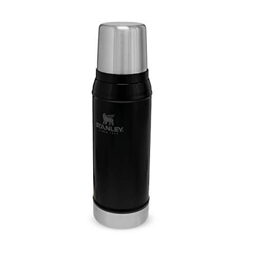 Stanley CLASSIC VAKUUM-FLASCHE 0,75 Liter Trinkflasche, Andere, Matte Black, 0.75 L