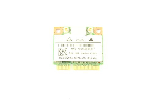 Dell MiniPCI Express MNRG4 WLAN WiFi 802.11n Wireless Card DW1506 Latitude E5540
