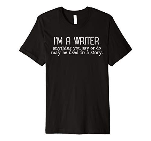 Journalist Reporter Gift Funny Writer Shirt Premium T-Shirt
