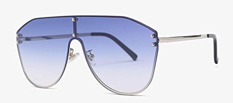 CQYYDDSonnenbrille MnnerMetallrahmenMode Groe Mnnliche Sonnenbrille Uv400 Für Frauen Schwarz Braun