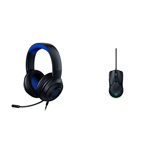 Razer Kraken X para Consolas - Auriculares Gaming Ligero + Viper Mini - Ratón para...