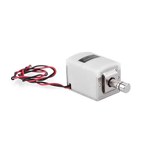 Elektrisch slot, klein elektrisch nachtschootslot Toegangscontroleslot voor de deur Ladebeveiliging Elektronisch slot voor deuren, ramen, dozen, kasten op school, mijnen, F