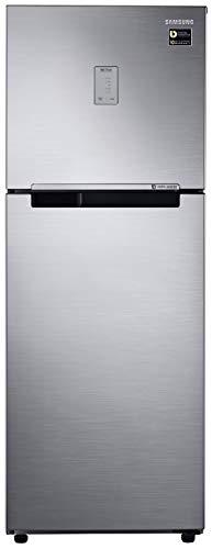 Samsung 253L 3 Star Inverter Frost Free Double Door Refrigerator (RT28T3483S8/HL, Elegant Inox)