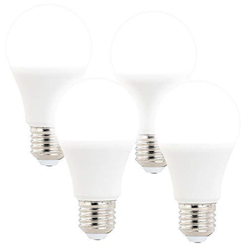 Luminea LED Lampe dimmbar E27: 4er-Set LED-Lampen mit 3 Helligkeitsstufen, 14 W, 1400 lm, E27, 6500 K (LED-Lampen für E27-Lampenfassungen)