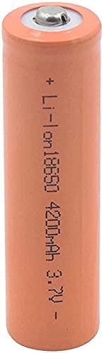 18650 3.7V 4200 Mah Li Ion Batería De Litio Baterías Recargables para Linterna Micrófono Externo Stack-4_Pcs
