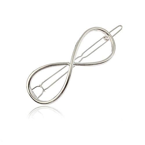 YAZILIND Diseño Simple Pinzas para el Cabello de aleación de Metal Abrazaderas...