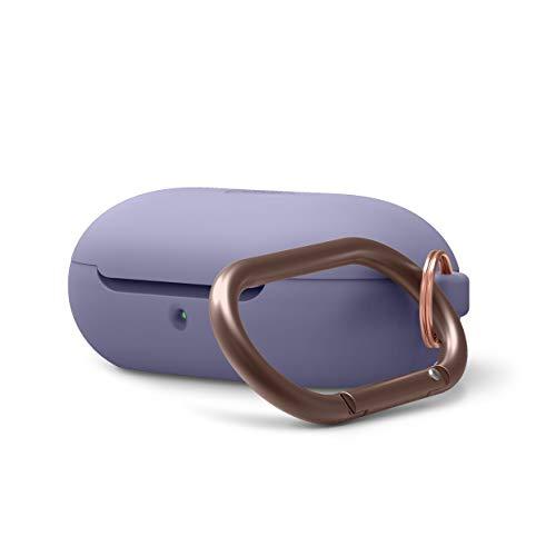 elago Silicone Case Designed for Samsung Galaxy Buds Plus Case (2020) / Galaxy Buds Case (2019) - (Lavender Grey)