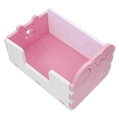 M I A Caja de arena de esquina para inodoro de hámster,...