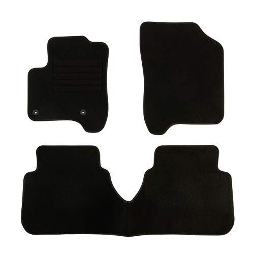 DBS Tapis de Voiture - sur Mesure pour C3 Picasso (2009-2016) - 3 pièces - Tapis de Sol antidérapant pour Automobile - Moquette Classic