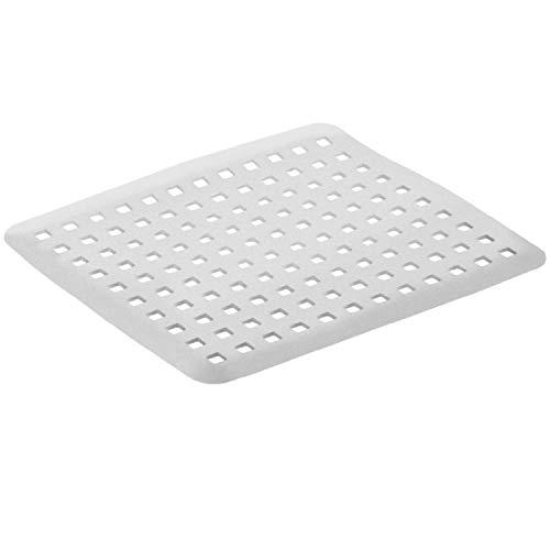 Rotho Basic Spülbecken-Einlage zum Schutz vor Kratzern, Kunststoff (PP) BPA-frei, grau, 31,0 x 27,0 x 0,4 cm