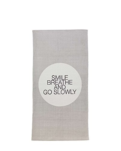 Bloomingville Smile Breathe Move Tapis Menthe/Gris