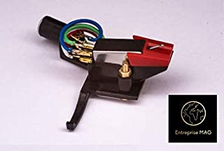 Headshell, mount, cartridge, needle, stylus for YAMAHA P 350, P 450, P 550, P 20, P 751, P 850, P 750, MADE IN ENGLAND