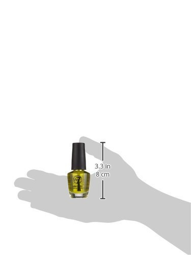 w7 nagellak 164 Crushed Pineapple (Jelly Bean), 15 ml, per stuk verpakt (1 x 0,015 l)
