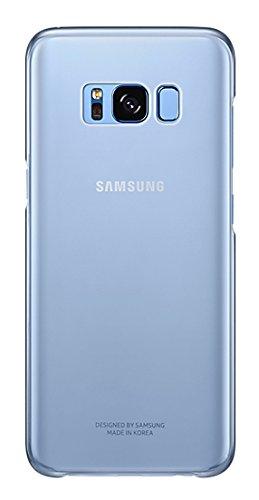 SAMSUNG EF-QG950 Funda para teléfono móvil 14,7 cm (5.8') Azul, Transparente - Fundas para teléfonos móviles (Funda, Galaxy S8, 14,7 cm (5.8'), Azul, Transparente)