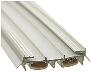 Door Parts: Bottom / Sweep, Slide on, Bulb Type - Beige color