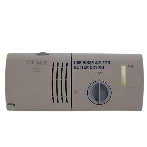 Whirlpool W10199696 Dishwasher Detergent Dispenser Assembly Genuine Original Equipment Manufacturer (OEM) Part