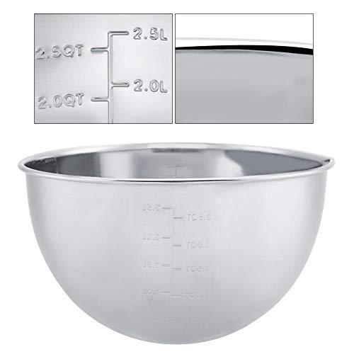 Tazón para mezclar, ingredientes de acero inoxidable Tazón para harina Ensalada para...